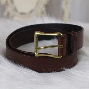 Liz Claiborne Brown Leather Belt